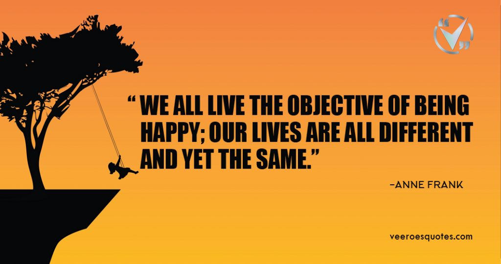 we all live the objective