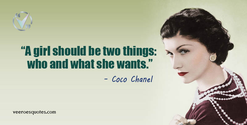 girl should be two things