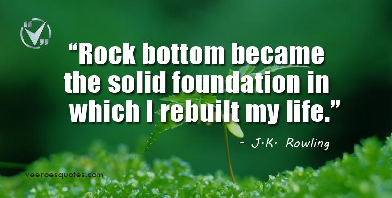 rock bottom became