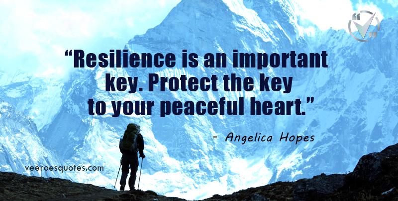 resilience is an important key