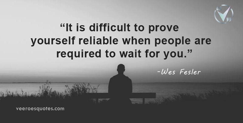 difficult to prove yourself