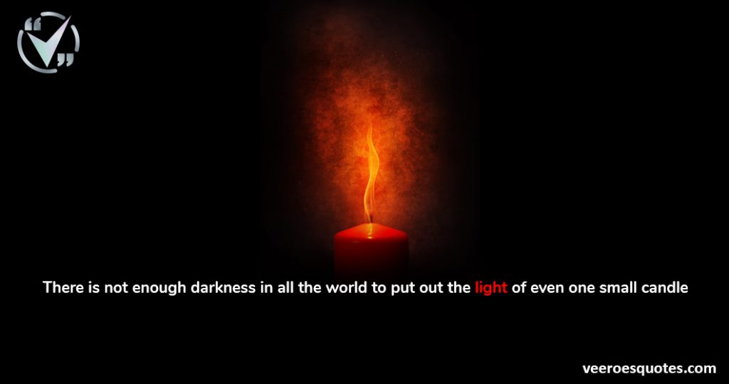 there is not enough darkness