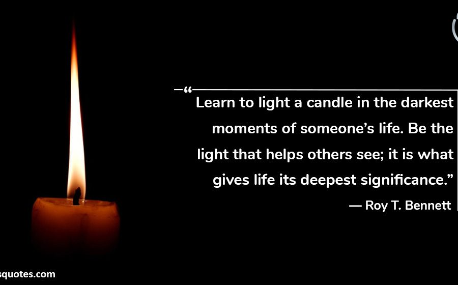 learn to light a candle