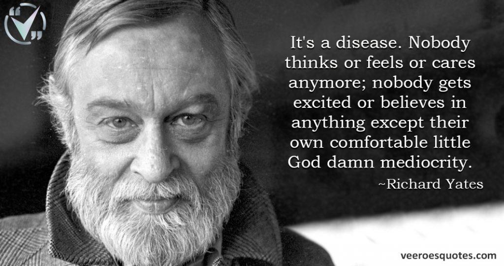 it is a disease