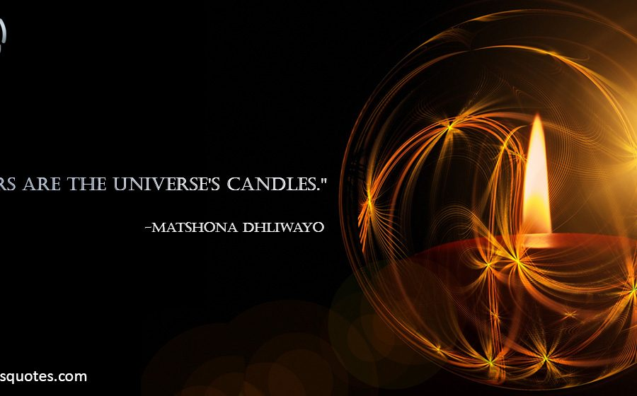 stars are the universe's candles