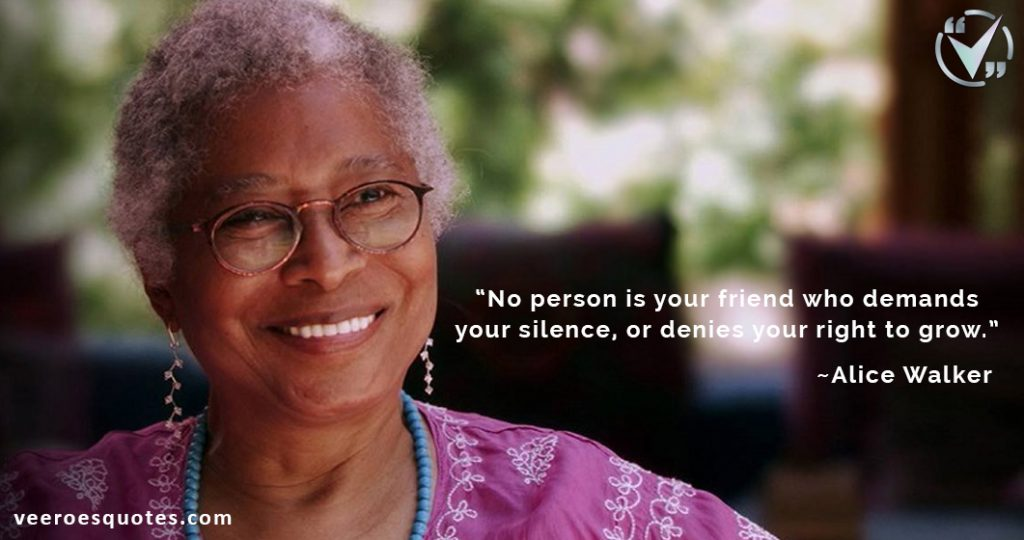 no person is your friend