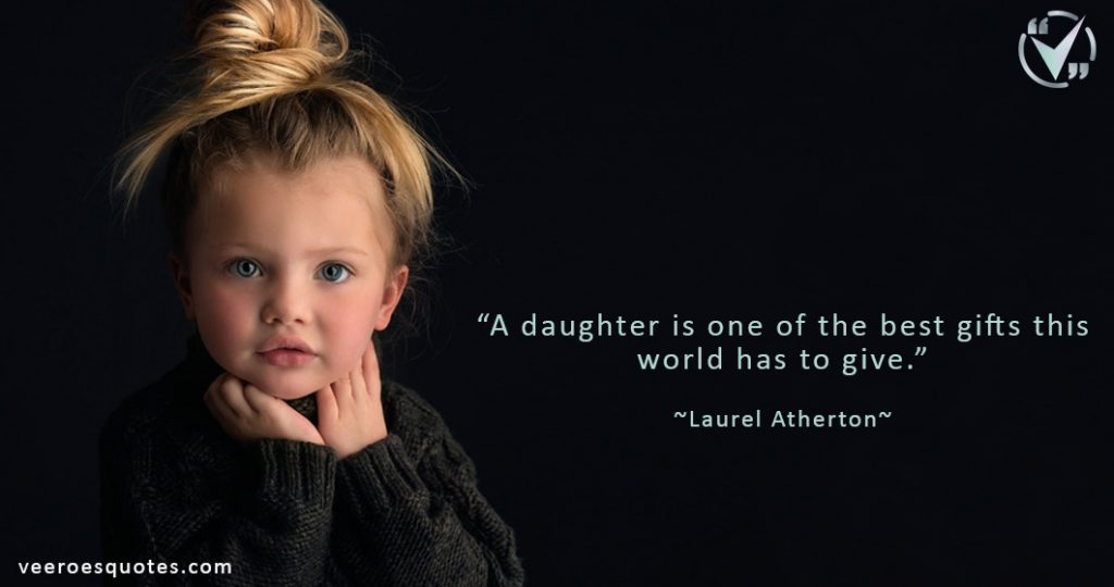 daughter is one of the Best