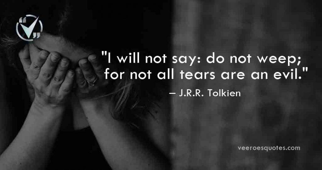 I will not say