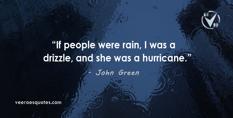 people were rain