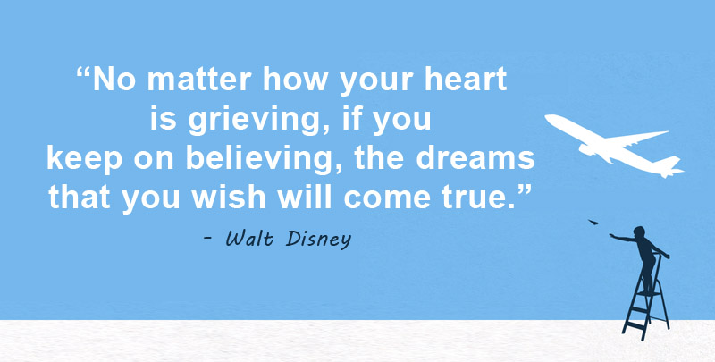your heart is grieving