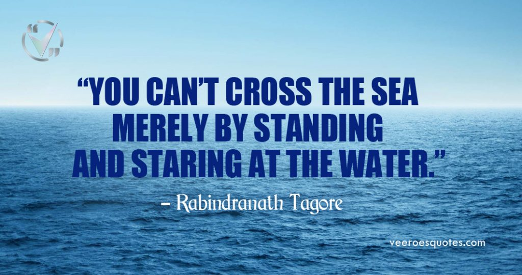 you cant cross the sea