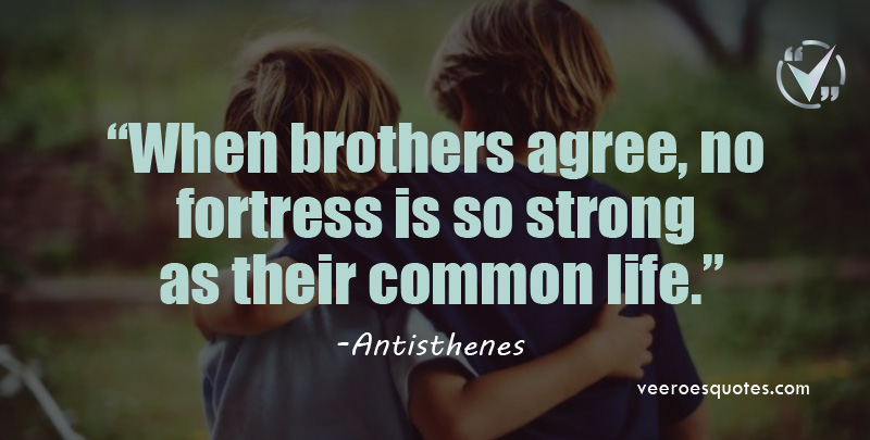 when Brothers agree