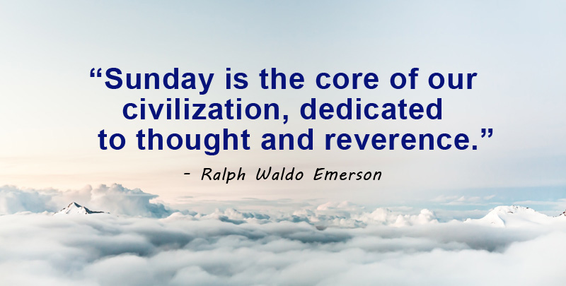 sunday is the core