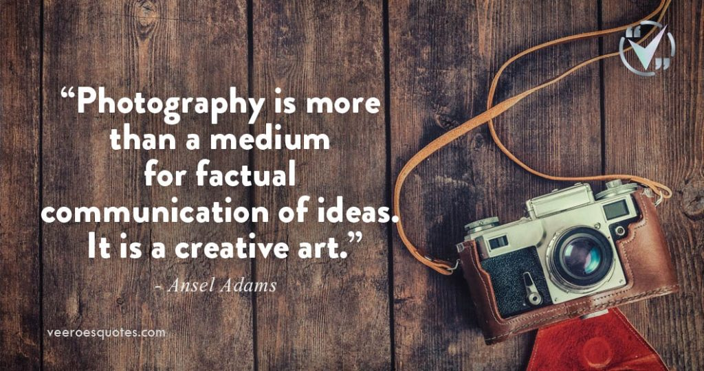photography is a creative art
