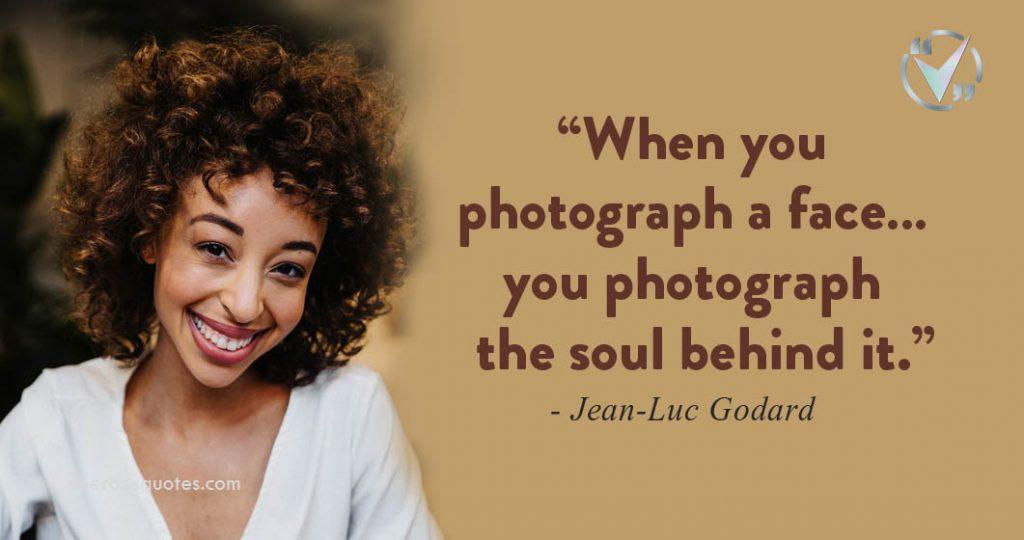 photograph a face