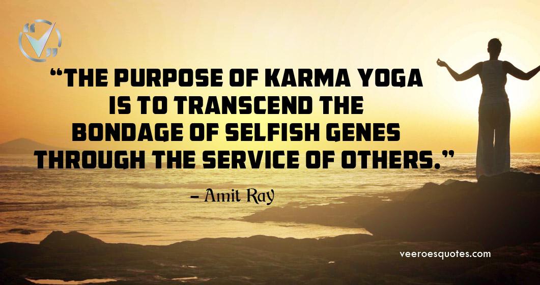 purpose of karma yoga