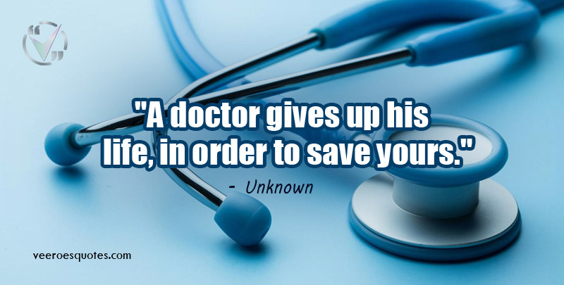 doctor gives up his life