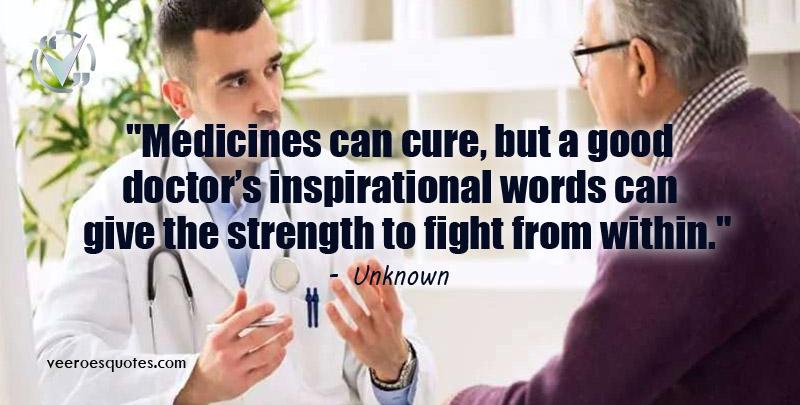medicines can cure