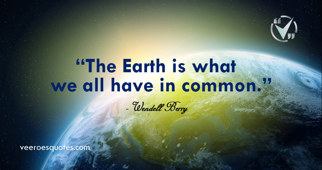 the earth is what
