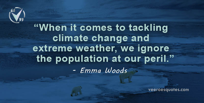 tackling climate change and extreme weather