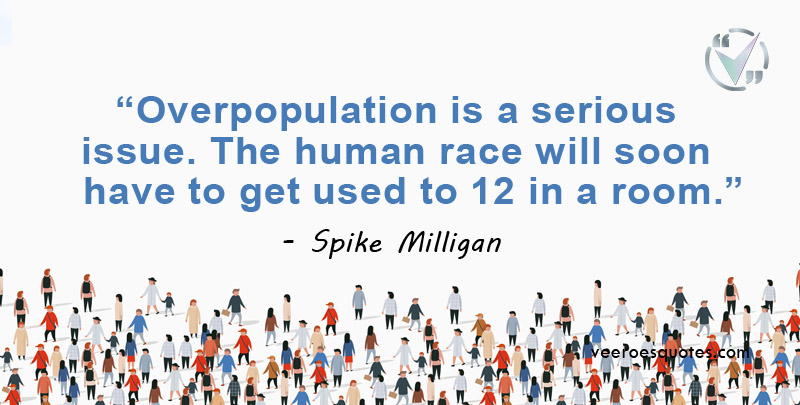 overpopulation is a serious issu