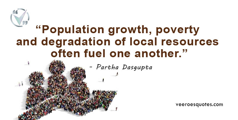 population growth poverty and degradation
